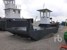 32 Ft Self Propelled Work Barge