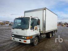 2002 HINO FB S/A Van Truck