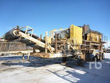 2012 TRIO Portable Jaw Crusher