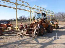 CASE W14 Wheel Loader Drilling