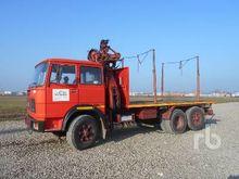 1980 FIAT 160NC 6x2 Flatbed Tru