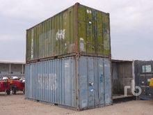 Quantity Of 2 20 Ft Container E