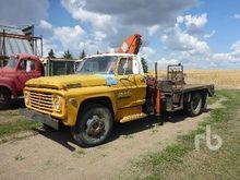 FORD 600 HIAB 550 Boom Trucks