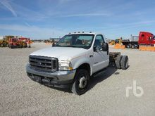 2002 FORD F450 XL Cab & Chassis