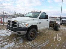 2007 DODGE 3500 4x4 Cab & Chass