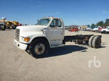1995 FORD S/A Cab & Chassis