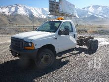 1999 FORD F550 4x4 Cab & Chassi