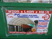 SUIHE C2040 450GSM PVC Dome Con