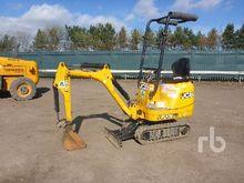 2012 JCB 8008 Micro Excavator (