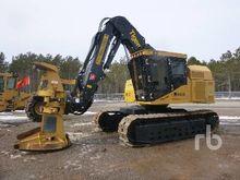 2015 TIGERCAT 845D Crawler Fell
