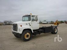 1978 FORD 7000 S/A Cab & Chassi