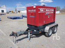 BALDOR TS80 65 KW Portable Gen