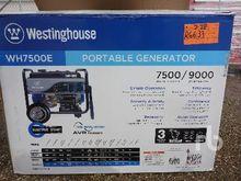WESTINGHOUSE WH7500E 7500 W Por