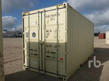 20 Ft High Cube Container Equip