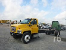 2006 GMC C7500 S/A Cab & Chassi