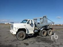 1985 FORD 9000 T/A Lugger Truck