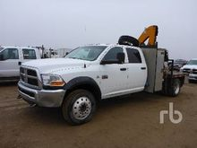 2011 DODGE 5500HD Crew Cab 4x4