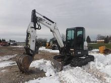 2014 BOBCAT E45 Midi Excavator