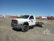 2008 DODGE 4500 Cab & Chassis