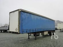 2012 DIMOND 40 Ft T/A Curtain S