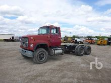 1997 FORD LT8000 T/A Cab & Chas