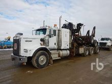 2007 KENWORTH T800B T/A Self-Lo