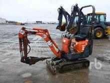KUBOTA K008-3 Micro Excavator (