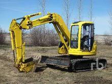 KOMATSU PC75UU-2 Micro Excavato