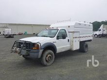 2007 FORD F450 4x4 Chip Truck