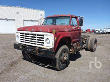 1978 FORD F600 4x4 Cab & Chassi