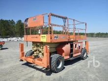 2007 JLG 3394RT 33 Ft 4x4 Rough