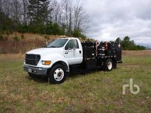 2000 FORD F650 XL S/A Fuel & Lu