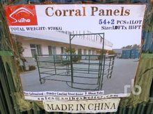 QUANTITY OF 10 Ft Corral Panels