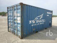 2002 CIMC 20 Ft Container Equip