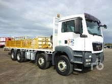 2010 MAN TGS35.480 8x4x4 Table