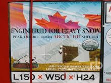 ARCTIC SHELTERS 50 Ft x 150 Ft