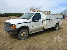 1999 FORD F550 4x4 Mechanics Tr