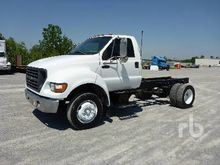 2002 FORD F650 S/A Cab & Chassi