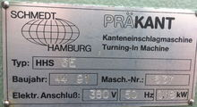 1990 Schmedt Präkant - HHS6E