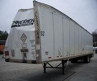 2007 Wabash Van--Salvage