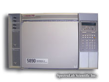 HP 5890 II GC with Dual ECDs, D