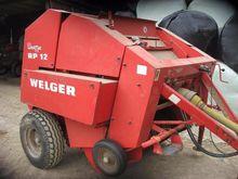 WELGAR RP12 ROUND BALER