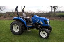 2007 NEW HOLLAND TC40DA BOOMER