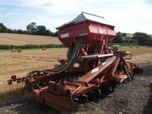 KUHN 4002 POWER HARROW, C/W ACC