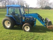 ISEKI 532 4wd loader tractor wi
