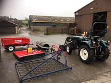 2008 SHIRE 440 COMPACT TRACTOR