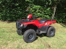 2015 HONDA TRX500FA ATV, Quad,