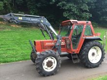 FIAT 100-90 TRACTOR WITH LOADER