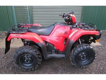 2016 HONDA TRX500 TRX 500 Red Q