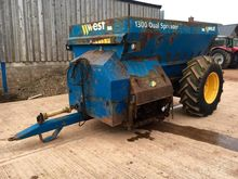 2004 WEST 1300 DUAL MUCK SPREAD